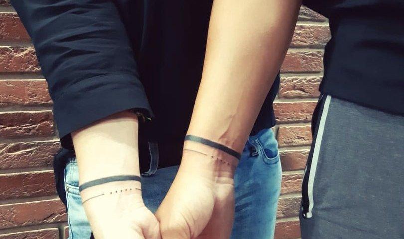 сделать тату на руках парное